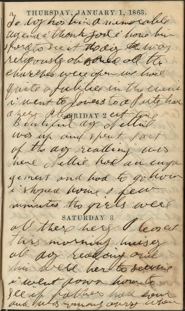 January 1-3, 1863