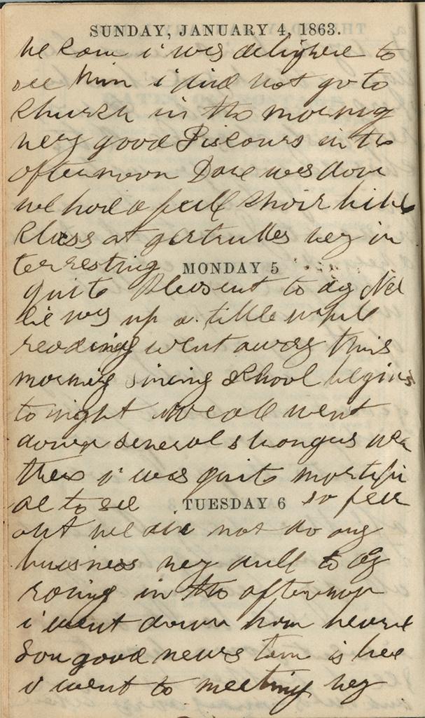 January 4-6, 1863